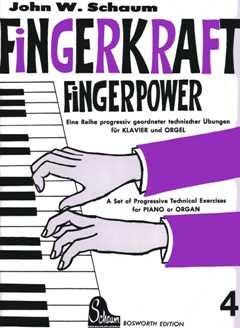 FINGERKRAFT 4 - arrangiert für Klavier [Noten / Sheetmusic] Komponist: SCHAUM JOHN WESLEY