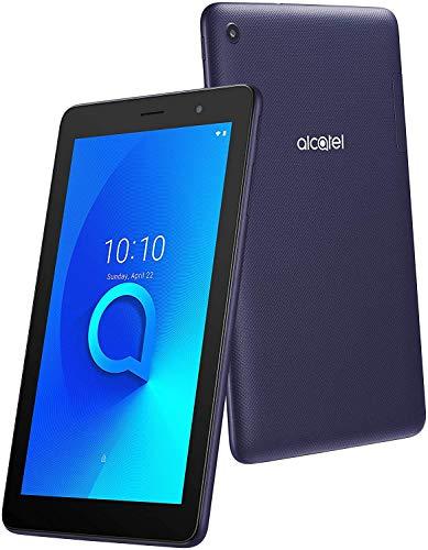 Alcatel 1T 7 3G - Tablet Quad Core con Display da 7 , 8 GB Espandibili, 1 GB RAM, Android GO Edition, Batteria 2580 mAh, Wi-Fi, Bluish Black [Italia]