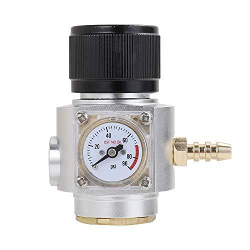 KKmoon Mini Sodastream CO2-Regler CO2-Ladegerät-Kit 0-90 PSI Soda Stream Beer Keg Charger