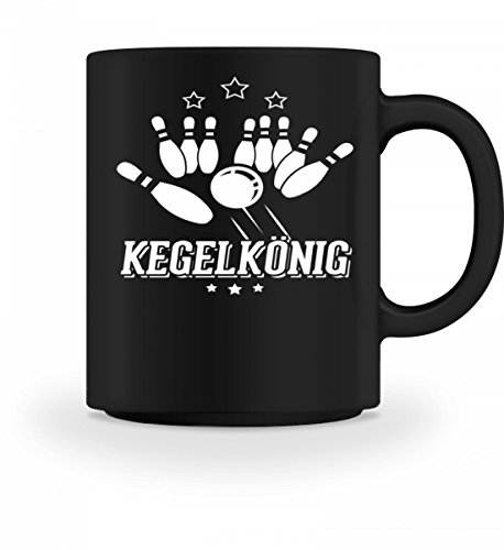 Chorchester Hochwertige Tasse - Kegelkönig - Für alle Kegler!