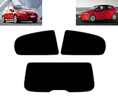 Tintcom.com Kit de vitre teintée pré-découpée pour Fiat Grande Punto 3 Portes 2005-2009