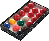 POWERGLIDE 57102 Snookerbälle, Durchmesser: 5,5cm