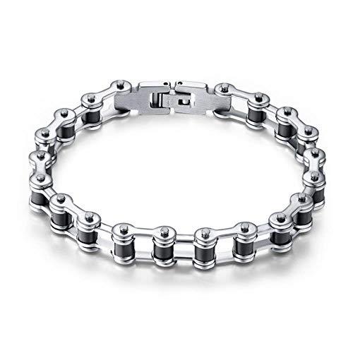 ASIG RVS Mannen Armband Fiets Ketting Ontwerp Armbanden Voor Mannelijke Bangle