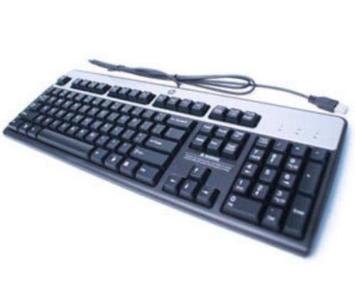 HP 434821-037 - USB Keyboard Basic W8 UK, [Importado de Reino Unido] (Reacondicionado)
