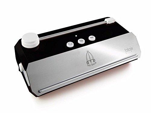 TakaJE Vacuum Machine à emballer sous vide Noir