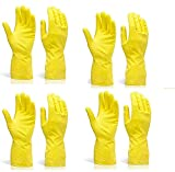 Pehel International Reusable Latex Safety Gloves for Washing, Cleaning, Kitchen, Garden and Sanitation