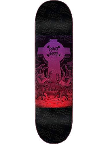 Creature Schwarz Forever Undead - 8.3 Inch Skateboard-Deck (One Size, Schwarz)
