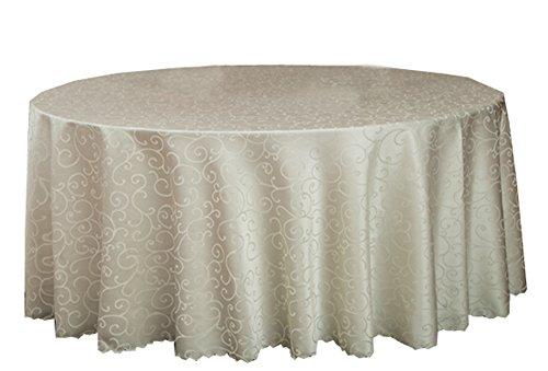 Black Temptation Banquets de Mariage Hôtels Accessoires de Table Nappes Rondes Couverture de Table Morning Glory