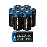 ANSMANN CR123A 3V Lithium Batterie - 8er Pack