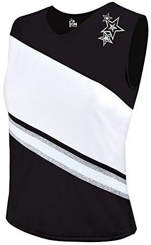 Rotation Cheerleading Shell Top - Black XX-Large