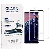 2 Pièces NBKASE Verre Trempé Compatible avec Galaxy S10 Plus, HD Ultra Transparent Protection...