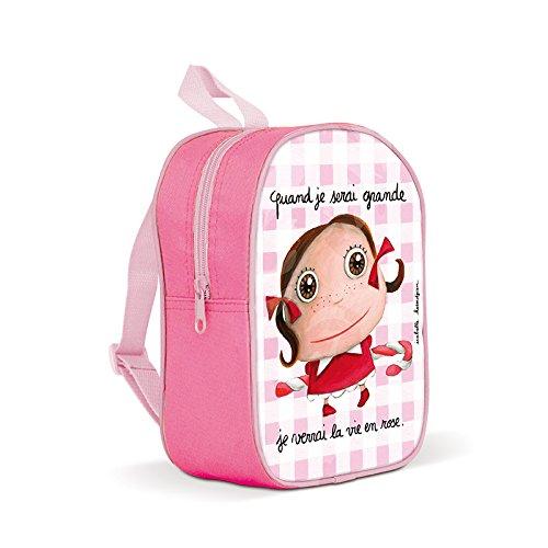 Petit sac à dos ' quand je serai grande je verrai la...