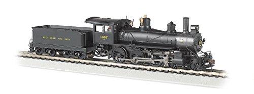 Bachmann Industries Baldwin 52' Driver 4-6-0 DCC Ready Locomotive - B&O #1357 - (1:87 HO Scale)