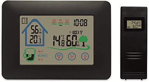 Denver WS-520 digitale weerstation Zwart Batterij/Accu