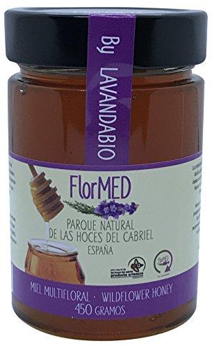 Miel de Lavanda y Romero Flormed by Lavandabio. Sin pasteurizar, miel cruda 2017, 450g. Directamente del apicultor
