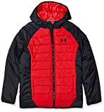 Under Armour Boys' Big Pronto Puffer Jacket, Red F1, YMD