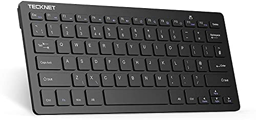 TECKNET 2.4G Wireless Keyboard For Windows 10/8/7/Vista/XP and Android...