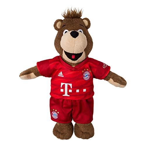 Bayern München Berni 35 cm Saison 2019/20, Maskottchen kompatibel FCB - Plus Lesezeichen I Love München