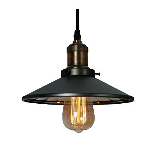 Klassieke hanglamp 1-flg ROTTERDAM P01154BK MIR Cosmo Light