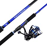 KastKing Centron Spinning Combos,7ft 6in, Medium Heavy-Full Handle,4000 Reel