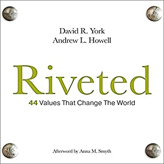 Riveted: 44 Values That Change the World audiobook cover art