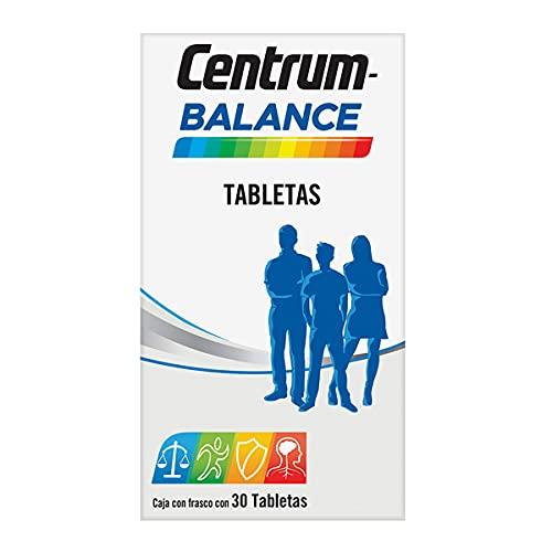 Centrum Multivitamínico Balance Frasco con 30 tabletas