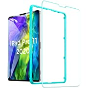 ESR Screen Protector for iPad Pro 11'' (2020/2018), [Free Installation Frame] [Scratch-Resistant] [9H Hardness] HD Clear Premium Tempered Glass Screen Protector, 1 Pack
