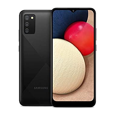 Samsung Galaxy A02s, Factory Unlocked Smartphone,...