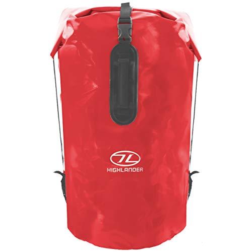 Highlander waterdichte rugzak Drybag Troon 70 liter Duffle bag - Rood