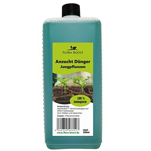 Konfitee Anzucht Dünger Jungpflanzen - Von Anfang an kräftige und gesunde Pflanzen für bessere Ernte (500 ml)