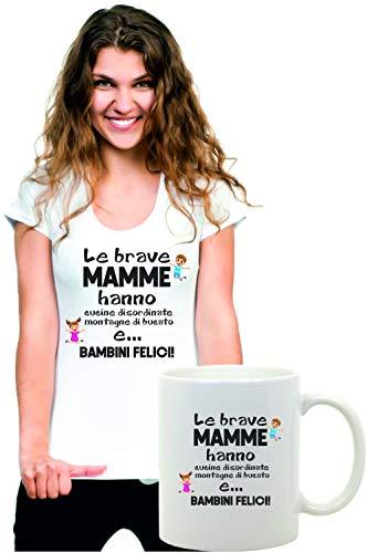 Coppia Tshirt e Tazza Festa della Mamma