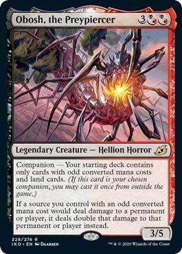 Magic: The Gathering - Obosh, The Preypiercer - Foil - Ikoria: Lair of Behemoths