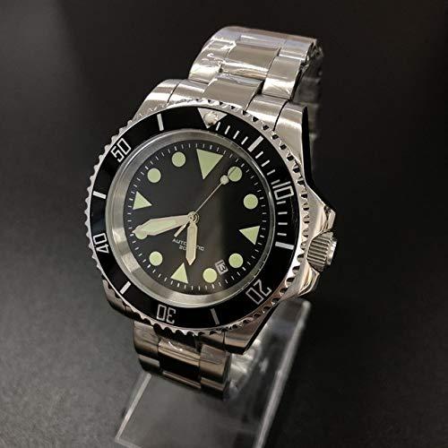 MKOIJN Horloges C3 Super Lichtgevend 316L Roestvrij Staal Automatisch Mechanisch Horloge Heren Hot Dive-Horloges 200M Aluminium Ringhorloge