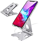Supporto Telefono,Supporto Tablet,Universale Supporto Dock per Phone iphone 11 XS X 8 7 , Huawei, Samsung S20, iPad PRO 9.7/10.2/10.5/12.9, iPad Air, iPad Mini,Supporto per cellulare pieghevole.