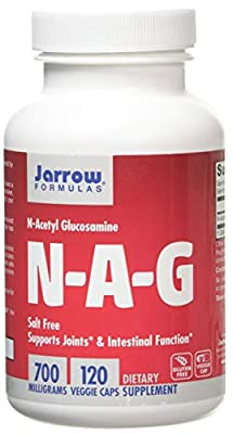 Jarrow NAG (N-Acetyl Glucosamine) 700mg, 120 Capsules