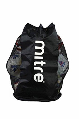 Mitre Football Sports Soccer Balls Storage Bag Holdall H2423 Mesh Ball S