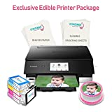 Icinginks Exclusive Cake Printer Package – Cake Wireless Image Printer, 10 Flexible Frosting Sheets, 100 Wafer Papers & Set of 5 Cake Ink Cartridges