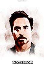 Notebook: Illustration Of Robert Downey , Journal for Writing, College Ruled Size 6