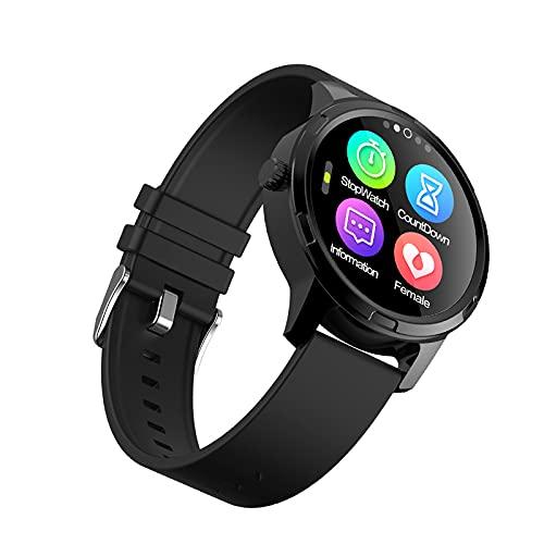 SSeir SmartWatch 1.3 Pulgadas Círculo Completo Pantalla TFT Reloj Deportivo Inteligente IP67 Impermeable, Soporte Monitoreo del sueño/Bluetooth/Reloj Despertador para Hombres y Mujeres