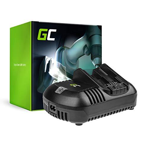 Green Cell Cargador (12V-18V Li-ion) DCB102 DCB105 DCB115 DCB118 DCB119 DCB132 para Herramientas eléctricas DeWalt DCB123 DCB127 DCB181 DCB182 DCB184 DCB185 DCB200 DCB546 DCD710 DCF815 DCD980 DCF885