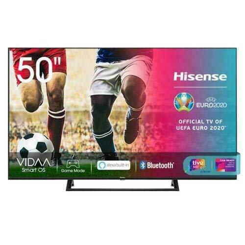 Hisense 50A7340FxSmart TV 50 Pollici 4K DVB-T2 HEVC VIDAA U4.0 Netflix Prime