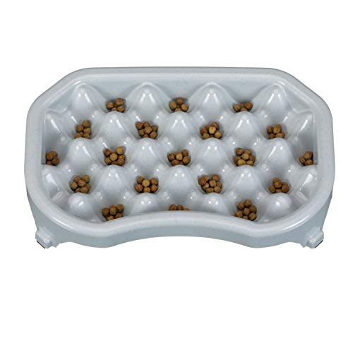 Neater Pet Brands - Neater Slow Feeder - Fun, Healthy, Stress Free Dog Bowl Helps Stop Bloat Prevents Obesity Improves Digestion (2.5 Cup, Vanilla Bean)