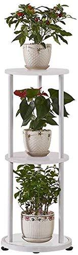 Dongyd Soporte de Flor de Interior Planta de Bastidor 3 Niveles de Flores Soporte de Metal for Suelo de Tiesto Holder