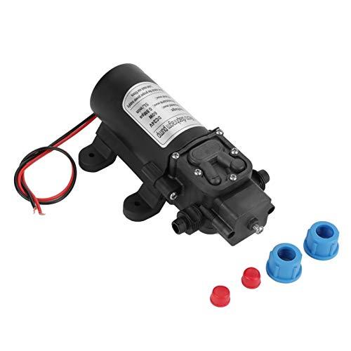 Oumefar Bomba de Agua de diafragma 24V, 60W 5L / Min Bomba de Agua autocebante de diafragma eléctrico de Alta presión en Miniatura