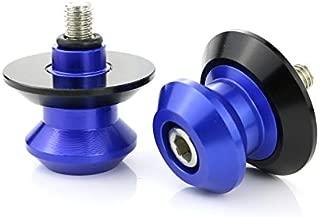 Repuestos Powersports For Honda CBR500R CBR650F CBR900RR 893 CBR900RR 919 de la motocicleta CNC de aluminio basculante soporte Tornillos Bobinas (Color : Blue)