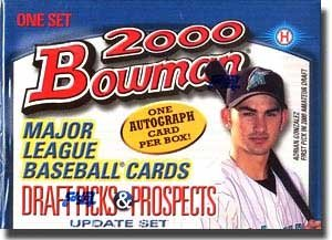 2000 Bowman Draft Picks & Prospects Baseball Cards Update Set