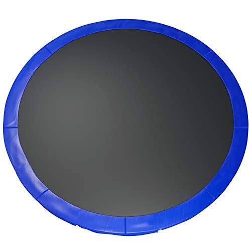 Fast-Jump - Cuscino di protezione delle molle per trampolino, 366 cm, in PVC, colore: Blu