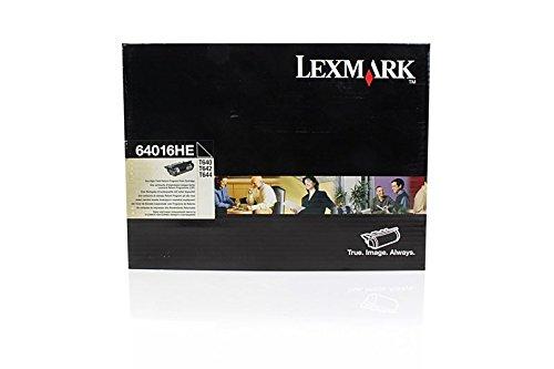 Original Lexmark 64016HE /, für T 640 N Premium Drucker-Kartusche, Schwarz, 21000 Seiten