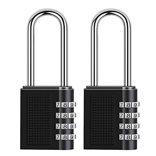 ONUEMP Combination Lock, 2 Pack Long Padlock Locker Locks, Weather Proof...