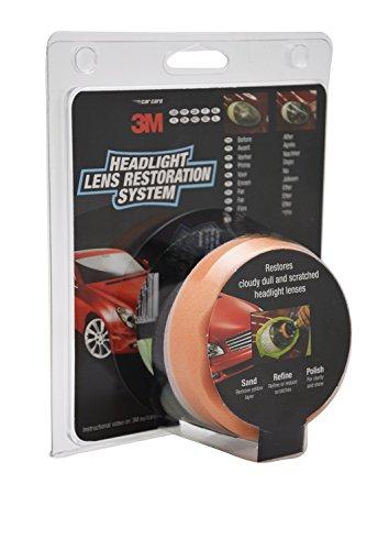 3M 39073 Headlight Lens Restoration Kit to Restore Dull/Faded/Discoloured Headlights